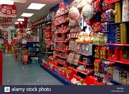 a high shop selling decorations and gifts stock