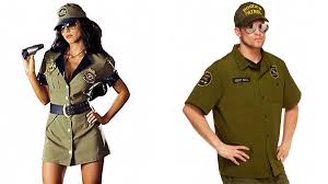 working for spirit halloween store spirit halloween releases border patrol halloween costume teen vogue