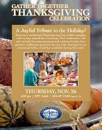 ticket sales gather together thanksgiving celebration 2015 at