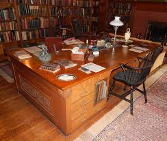 Partner Desks Home Office by The Collection U2014 Glessner House Museum