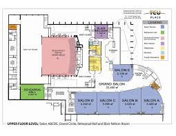 tcu place saskatoon s arts convention centre floor plans