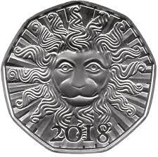 new year coin 5 new year coin 2018 austria numista