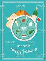 passover seder books passover seder plate with flat trasitional icons stock vector