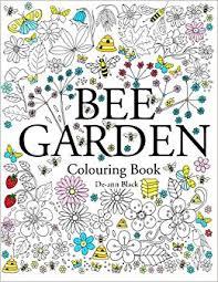 bee garden colouring book amazon uk ann black