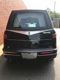 lincoln minivan 2017 lincoln mk legacy hearse