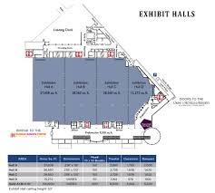 Exhibition Floor Plan Exhibit Hall Rhode Island Convention Center