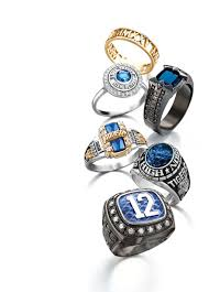 silver class rings images High school rings jpg