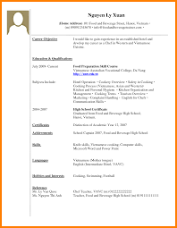 13 Student Resume Examples High by 6 Writing A Resume With No Work Experience Resign Latter