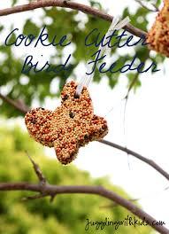 cookie cutter bird feeder u2013 juggling with kids