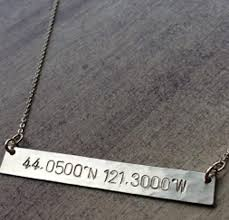 Hand Stamped Necklace Hand Stamped Jewelry Monogram Jewelry Be Monogrammed