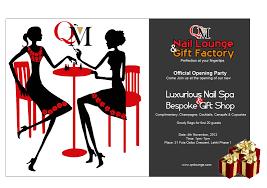 qm nail lounge u0026 gift factory launch third world profashional com