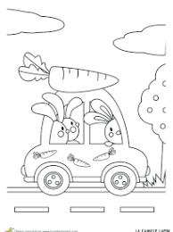 coloriage voiture à imprimer sur hugolescargot com