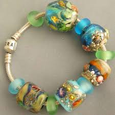 glass beads pandora bracelet images Lampwork glass beads for pandora biagi chamilia and trollbeads jpg