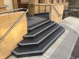 Non Slip Nosing Stairs by Anti Slip Tactiles Newcastle Anti Slip Tactiles Newcastle