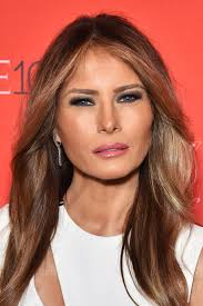 melania trump unrecognisable candid monochrome photos