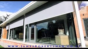 solar shading by james robertshaw external screen roller blinds