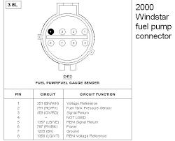 no power to fuel pump 2000 windstar fordforumsonline com