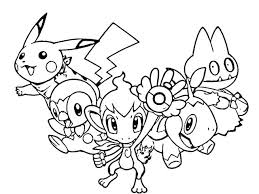 pokemon coloring pages of snivy pokemon coloring pages printable