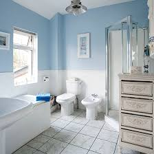 blue and white bathroom ideas pale blue and white traditional style bathroom bathroom decorating