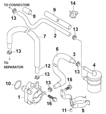 johnson fuel pump parts for 2003 90hp bj90pl4sts outboard motor