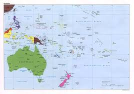 Australian Map Of The World by Maps Of Australia And Oceania Map Library Maps Of The World