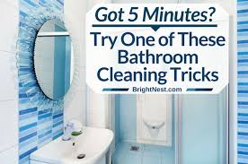 Bathtub Cleaning Tricks Got 5 Minutes Try One Of These Bathroom Cleaning Tricks Clean House