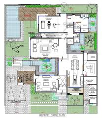 contemporary home floor plans a contemporary home for a family in bahrain architecture