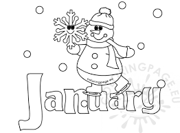 january coloring pages for kindergarten personable january coloring pages preschool for fancy january
