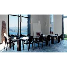 kartell glossy dining table louis ghost chair set of 4 philippe starck kartell palette