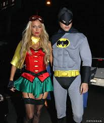 Batman Robin Halloween Costumes Girls Celebrities Wearing Halloween Costumes Popsugar Celebrity