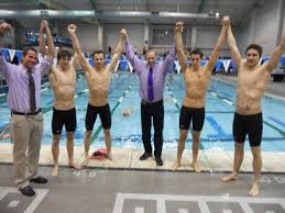ub men u0027s 200 yard medley relay team claims national title bridgeport