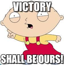 Victory Meme - victory stewie meme on memegen
