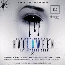 halloween monster ball 2017 markham tickets costumes party