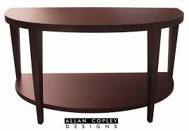 half oval console table dstyle marla half oval console