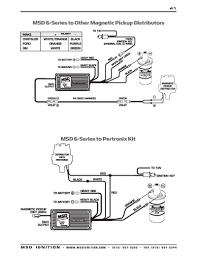 hei distributor wiring diagram luxury msd troubleshooting free