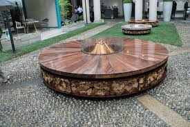 Wood Burning Firepit 10 Beautiful Pictures Of Outdoor Fireplaces And Pits Hgtv