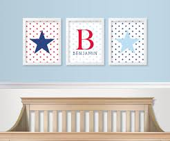 Red White And Blue Home Decor by Red White And Blue Nursery Decor Military Baby Nursery