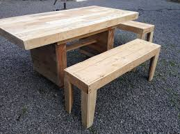 nice garden table with benches u2022 1001 pallets