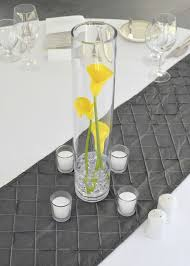 Tall Glass Table 33 Extravagant Floral Arrangements For Your Dining Table