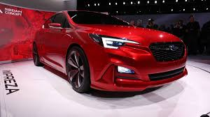 convertible subaru impreza new subaru impreza concept at the 2015 la auto show