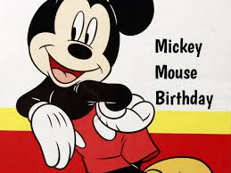 thanksgiving mickey mouse mickey mouse birthday in 2017 2018 when where why how is