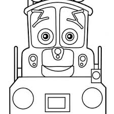 toot chuggington coloring toot chuggington