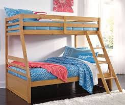 twin step bunkbed the furniture mart
