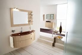 interior attractive bathroom mirror ideas alongside wooden frame