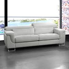 Salon En Cuir Design Italien by Canape Convertible Cuir Blanc Design Canape Lit Cuir 3 Places