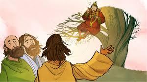 luke 19 story of zacchaeus kids bible lesson kids bible stories