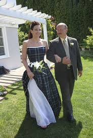 scottish wedding dresses custom made tartan wedding gown
