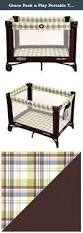 Graco Pack N Play Bassinet Changing Table by Graco Pack N Play Portable Travel Baby Crib Playpen Bassinet