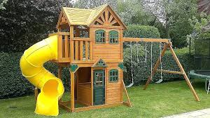 Backyard Playhouse Ideas Tikes Outdoor Playhouse Outdoor Playhouse Kit Club