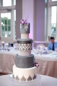 wedding cakes gray bling cake 2056756 weddbook
